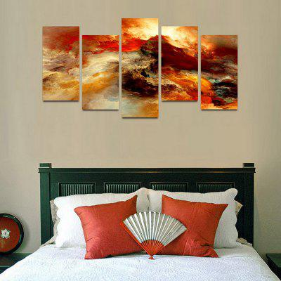 MailingArt F021 5 Panels Landscape Wall Art Painting Home Decor Canvas PrintPrints<br>MailingArt F021 5 Panels Landscape Wall Art Painting Home Decor Canvas Print<br><br>Craft: Print<br>Form: Five Panels<br>Material: Canvas<br>Package Contents: 5 x Print<br>Package size (L x W x H): 82.00 x 32.00 x 12.00 cm / 32.28 x 12.6 x 4.72 inches<br>Package weight: 1.8000 kg<br>Painting: Include Inner Frame<br>Shape: Horizontal Panoramic<br>Style: Natural<br>Subjects: Abstract<br>Suitable Space: Bedroom,Cafes,Dining Room,Hallway,Hotel,Kids Room,Kids Room,Kitchen,Living Room,Office,Study Room / Office