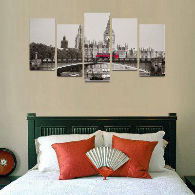 MailingArt F022 5 Panels Landscape Wall Art Painting Home Decor Canvas PrintPrints<br>MailingArt F022 5 Panels Landscape Wall Art Painting Home Decor Canvas Print<br><br>Craft: Print<br>Form: Five Panels<br>Material: Canvas<br>Package Contents: 5 x Print<br>Package size (L x W x H): 82.00 x 32.00 x 12.00 cm / 32.28 x 12.6 x 4.72 inches<br>Package weight: 1.8000 kg<br>Painting: Include Inner Frame<br>Shape: Horizontal Panoramic<br>Style: Natural<br>Subjects: Architecture<br>Suitable Space: Bedroom,Cafes,Dining Room,Hallway,Hotel,Kids Room,Kids Room,Kitchen,Living Room,Office,Study Room / Office