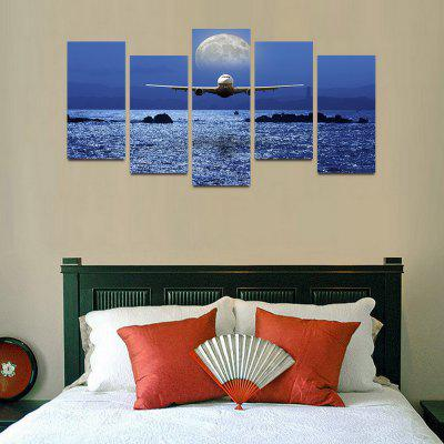 MailingArt F023 5 Panels Landscape Wall Art Painting Home Decor Canvas PrintPrints<br>MailingArt F023 5 Panels Landscape Wall Art Painting Home Decor Canvas Print<br><br>Craft: Print<br>Form: Five Panels<br>Material: Canvas<br>Package Contents: 5 x Print<br>Package size (L x W x H): 82.00 x 32.00 x 12.00 cm / 32.28 x 12.6 x 4.72 inches<br>Package weight: 1.8000 kg<br>Painting: Include Inner Frame<br>Shape: Horizontal Panoramic<br>Style: Natural<br>Subjects: Seascape<br>Suitable Space: Bedroom,Cafes,Dining Room,Hallway,Hotel,Kids Room,Kids Room,Kitchen,Living Room,Office,Study Room / Office