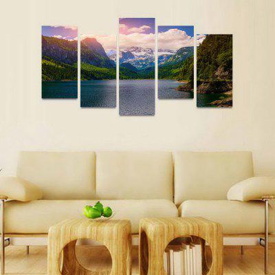 MailingArt FIV184  5 Panels Landscape Wall Art Painting Home Decor Canvas PrintPrints<br>MailingArt FIV184  5 Panels Landscape Wall Art Painting Home Decor Canvas Print<br><br>Craft: Print<br>Form: Five Panels<br>Material: Canvas<br>Package Contents: 5 x Print<br>Package size (L x W x H): 82.00 x 32.00 x 12.00 cm / 32.28 x 12.6 x 4.72 inches<br>Package weight: 1.8000 kg<br>Painting: Include Inner Frame<br>Shape: Horizontal Panoramic<br>Style: Natural<br>Subjects: Landscape<br>Suitable Space: Bedroom,Cafes,Dining Room,Hallway,Hotel,Kids Room,Kids Room,Kitchen,Living Room,Office,Study Room / Office