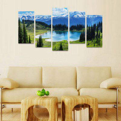 MailingArt FIV186  5 Panels Landscape Wall Art Painting Home Decor Canvas PrintPrints<br>MailingArt FIV186  5 Panels Landscape Wall Art Painting Home Decor Canvas Print<br><br>Craft: Print<br>Form: Five Panels<br>Material: Canvas<br>Package Contents: 5 x Print<br>Package size (L x W x H): 82.00 x 32.00 x 12.00 cm / 32.28 x 12.6 x 4.72 inches<br>Package weight: 1.8000 kg<br>Painting: Include Inner Frame<br>Shape: Horizontal Panoramic<br>Style: Natural<br>Subjects: Landscape<br>Suitable Space: Boys Room,Cafes,Corridor,Dining Room,Girls Room,Hotel,Kids Room,Kitchen,Living Room,Office,Study Room / Office