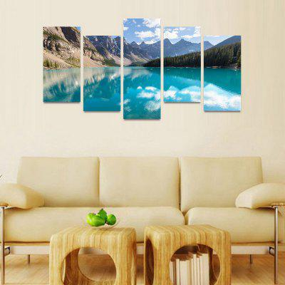 MailingArt FIV187  5 Panels Landscape Wall Art Painting Home Decor Canvas PrintPrints<br>MailingArt FIV187  5 Panels Landscape Wall Art Painting Home Decor Canvas Print<br><br>Craft: Print<br>Form: Five Panels<br>Material: Canvas<br>Package Contents: 5 x Print<br>Package size (L x W x H): 82.00 x 32.00 x 12.00 cm / 32.28 x 12.6 x 4.72 inches<br>Package weight: 1.8000 kg<br>Painting: Include Inner Frame<br>Shape: Horizontal Panoramic<br>Style: Natural<br>Subjects: Landscape<br>Suitable Space: Boys Room,Cafes,Corridor,Dining Room,Girls Room,Hotel,Kids Room,Kitchen,Living Room,Office,Study Room / Office