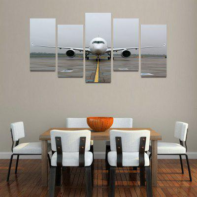 MailingArt F028 5 Panels Landscape Wall Art Painting Home Decor Canvas Print