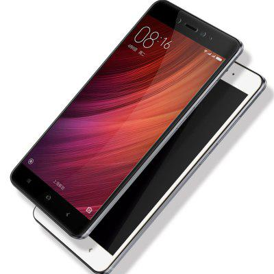 цена на HD Clear Full Coverage Automatic Adsorption Tempered Glass for Xiaomi Redmi Note 4