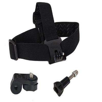 Action Camera Accessories Head Strap Belt Adapter Mount Kit For GoPro Hero 6/5S/5/4/3+/3/2/1