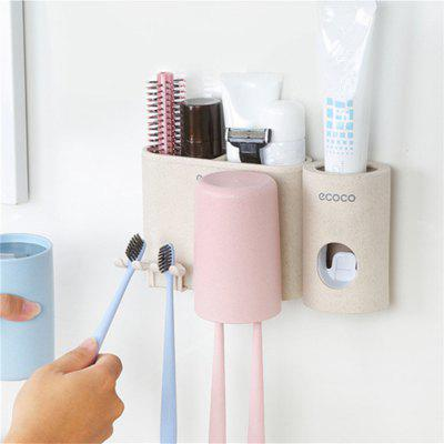 Wheat Straw Wash Rinse Toothbrush and Gargle Suit