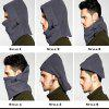 NEW Men and Women Winter Warm Full Face Cover Winter Ski Mask Cat  Hat - GRAY