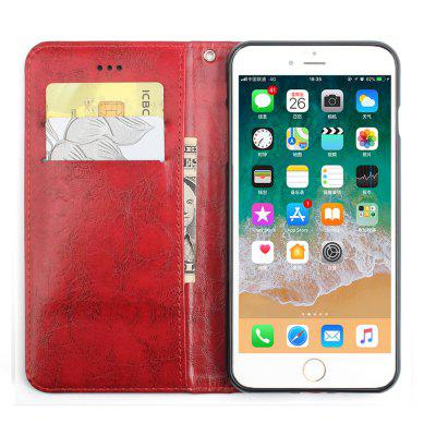 Flip Case for iPhone 8 Plus Leather Luxury Wallet Card Slots Holder Stand CoverCases &amp; Leather<br>Flip Case for iPhone 8 Plus Leather Luxury Wallet Card Slots Holder Stand Cover<br><br>Compatible for Apple: iPhone 8 Plus<br>Features: Back Cover, Button Protector, Anti-knock, Dirt-resistant<br>Material: TPU, PU Leather<br>Package Contents: 1 x Phone Case<br>Package size (L x W x H): 15.00 x 7.00 x 2.00 cm / 5.91 x 2.76 x 0.79 inches<br>Package weight: 0.0800 kg<br>Style: Retro, Solid Color, Cool
