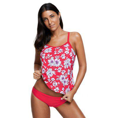 Red White Floral Print Bikini SetWomens Swimwear<br>Red White Floral Print Bikini Set<br><br>Bra Style: Push Up<br>Elasticity: Elastic<br>Gender: For Women<br>Material: Polyester<br>Package Contents: 1Xbikini set<br>Pattern Type: Print<br>Support Type: Wire Free<br>Swimwear Type: Tankini<br>Waist: Natural<br>Weight: 0.3100kg<br>With Pad: Yes