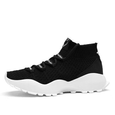 2018 Hot Sale Men High-Vamp Socks ShoesMen's Sneakers<br>2018 Hot Sale Men High-Vamp Socks Shoes<br><br>Available Size: 39-44<br>Closure Type: Lace-Up<br>Feature: Breathable<br>Gender: For Men<br>Insole Material: PU<br>Lining Material: Cotton Fabric<br>Outsole Material: Rubber<br>Package Contents: 1 x Shoes (pair)<br>Package Size(L x W x H): 30.00 x 20.00 x 10.00 cm / 11.81 x 7.87 x 3.94 inches<br>Package weight: 0.8000 kg<br>Pattern Type: Others<br>Season: Summer<br>Shoe Width: Medium(B/M)<br>Upper Material: Nylon