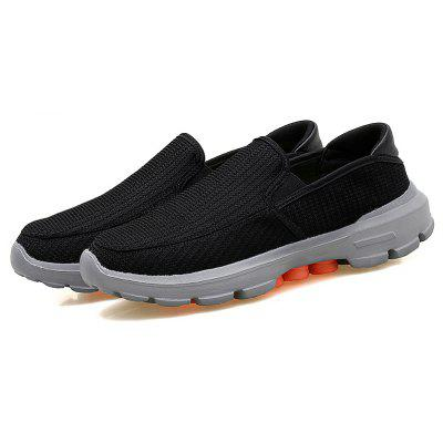 2018 Summer New Arrival Running Shoes for MenCasual Shoes<br>2018 Summer New Arrival Running Shoes for Men<br><br>Available Size: 39-45<br>Closure Type: Slip-On<br>Feature: Breathable<br>Gender: For Men<br>Insole Material: PU<br>Lining Material: Polyester<br>Outsole Material: EVA<br>Package Contents: 1 x Shoes (pair)<br>Package Size(L x W x H): 30.00 x 20.00 x 10.00 cm / 11.81 x 7.87 x 3.94 inches<br>Package weight: 0.6000 kg<br>Pattern Type: Solid<br>Season: Summer<br>Shoe Width: Medium(B/M)<br>Upper Material: Synthetic