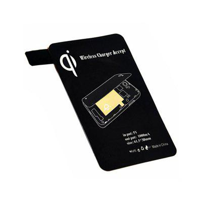 Cwxuan Qi Wireless Charger Transmitter for Samsung Galaxy S5Chargers &amp; Cables<br>Cwxuan Qi Wireless Charger Transmitter for Samsung Galaxy S5<br><br>Color: Black<br>Compatible Devices: Samsung Mobile Phone<br>Mainly Compatible with: Samsung Galaxy S5 i9600<br>Package Contents: 1 x Wireless charger receiver<br>Package size (L x W x H): 14.00 x 8.00 x 0.06 cm / 5.51 x 3.15 x 0.02 inches<br>Package weight: 0.0070 kg<br>Product size (L x W x H): 7.00 x 5.50 x 0.05 cm / 2.76 x 2.17 x 0.02 inches<br>Product weight: 0.0050 kg<br>Type: Wireless Charger Receivers