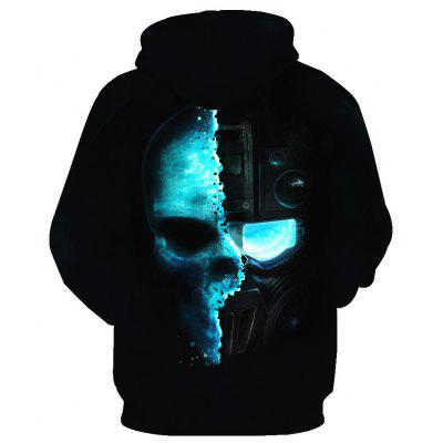 Skeleton Warrior Printed HoodieMens Hoodies &amp; Sweatshirts<br>Skeleton Warrior Printed Hoodie<br><br>Material: Cotton<br>Package Contents: 1 x Hoodie<br>Shirt Length: Regular<br>Sleeve Length: Full<br>Style: Fashion<br>Weight: 0.4300kg