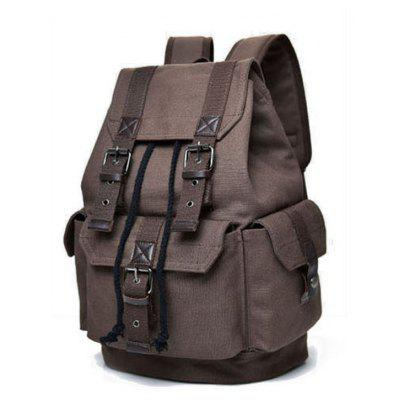 Canvas Backpack Unisex Backpack Travel Bulk BagBackpacks<br>Canvas Backpack Unisex Backpack Travel Bulk Bag<br><br>For: Climbing, Camping, Adventure, Traveling<br>Material: Nylon<br>Package Contents: 1 x Backpack<br>Package size (L x W x H): 35.00 x 10.00 x 44.00 cm / 13.78 x 3.94 x 17.32 inches<br>Package weight: 0.8000 kg<br>Product size (L x W x H): 30.00 x 20.00 x 43.00 cm / 11.81 x 7.87 x 16.93 inches<br>Product weight: 0.7500 kg<br>Type: Backpack