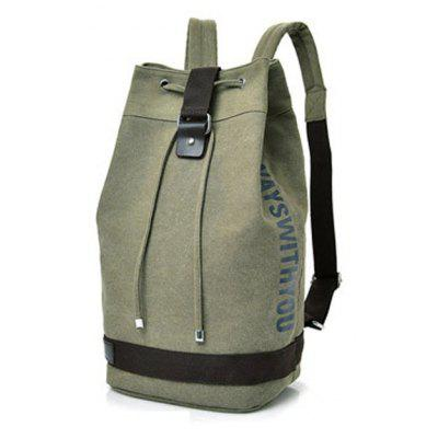 Canvas Sports Drum Bag Travel Computer Backpack Unisex