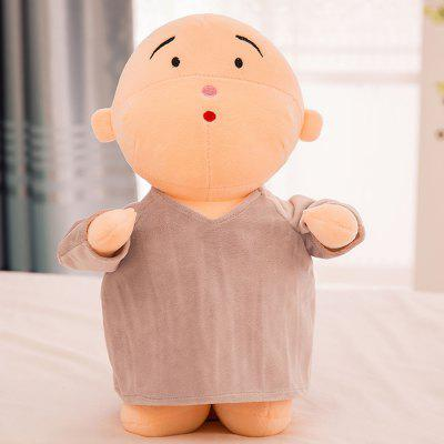 Girl Plush Doll Toy Creative Cute Monks Birthday GiftStuffed Cartoon Toys<br>Girl Plush Doll Toy Creative Cute Monks Birthday Gift<br><br>Features: Cartoon, Stuffed and Plush<br>Materials: PP Cotton, Hollow Cotton<br>Package Contents: 1 x Plush Toy<br>Package size: 20.00 x 12.00 x 30.00 cm / 7.87 x 4.72 x 11.81 inches<br>Package weight: 0.3000 kg<br>Product size: 20.00 x 12.00 x 30.00 cm / 7.87 x 4.72 x 11.81 inches<br>Series: Fashion,Ethnic<br>Theme: Leisure,Baby Doll