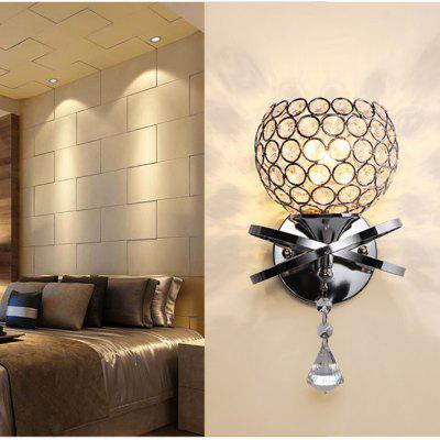 Crystal Creative European Style American Living Room Head Wall Lamp Staircase Passageway