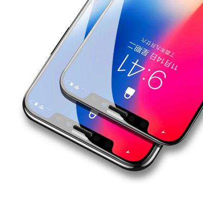 4D Curved Edge Tempered Glass for iPhone X  HD Screen Protective Film Full CoverageIPhone Screen Protectors<br>4D Curved Edge Tempered Glass for iPhone X  HD Screen Protective Film Full Coverage<br><br>Features: Protect Screen, Anti-oil, High-definition, Anti fingerprint, Anti scratch<br>For: Cell Phone<br>Mainly Compatible with: iPhone X<br>Material: Tempered Glass<br>Package Contents: 1 x Protective Screen<br>Package size (L x W x H): 18.00 x 10.00 x 3.00 cm / 7.09 x 3.94 x 1.18 inches<br>Package weight: 0.0600 kg<br>Surface Hardness: 9H<br>Thickness: 0.3mm<br>Type: Screen Protector