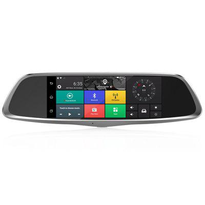 T8 4G HD Android Rearview Mirror Camera
