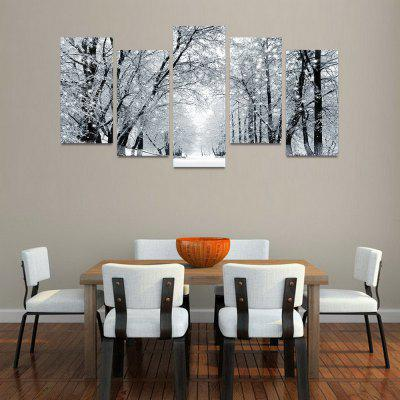 Buy MailingArt FIV198 5 Panels Landscape Wall Art Painting Home Decor Canvas Print, COLORMIX, Home & Garden, Home Decors, Wall Art, Prints for $57.16 in GearBest store