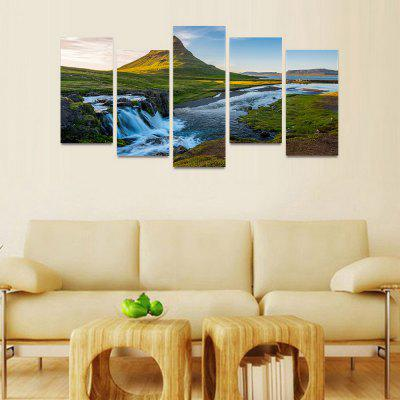 MailingArt FIV205  5 Panels Landscape Wall Art Painting Home Decor Canvas PrintPrints<br>MailingArt FIV205  5 Panels Landscape Wall Art Painting Home Decor Canvas Print<br><br>Craft: Print<br>Form: Five Panels<br>Material: Canvas<br>Package Contents: 5 x Print<br>Package size (L x W x H): 82.00 x 32.00 x 12.00 cm / 32.28 x 12.6 x 4.72 inches<br>Package weight: 1.8000 kg<br>Painting: Include Inner Frame<br>Shape: Horizontal Panoramic<br>Style: Natural<br>Subjects: Landscape<br>Suitable Space: Bedroom,Cafes,Dining Room,Hallway,Hotel,Kids Room,Kids Room,Kitchen,Living Room,Office,Study Room / Office