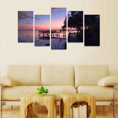 MailingArt FIV206  5 Panels Landscape Wall Art Painting Home Decor Canvas PrintPrints<br>MailingArt FIV206  5 Panels Landscape Wall Art Painting Home Decor Canvas Print<br><br>Craft: Print<br>Form: Five Panels<br>Material: Canvas<br>Package Contents: 5 x Print<br>Package size (L x W x H): 82.00 x 32.00 x 12.00 cm / 32.28 x 12.6 x 4.72 inches<br>Package weight: 1.8000 kg<br>Painting: Include Inner Frame<br>Shape: Horizontal Panoramic<br>Style: Natural<br>Subjects: Landscape<br>Suitable Space: Bedroom,Cafes,Dining Room,Hallway,Hotel,Kids Room,Kids Room,Kitchen,Living Room,Office,Study Room / Office