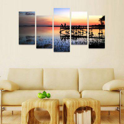 MailingArt FIV207  5 Panels Landscape Wall Art Painting Home Decor Canvas PrintPrints<br>MailingArt FIV207  5 Panels Landscape Wall Art Painting Home Decor Canvas Print<br><br>Craft: Print<br>Form: Five Panels<br>Material: Canvas<br>Package Contents: 5 x Print<br>Package size (L x W x H): 82.00 x 32.00 x 12.00 cm / 32.28 x 12.6 x 4.72 inches<br>Package weight: 1.8000 kg<br>Painting: Include Inner Frame<br>Shape: Horizontal Panoramic<br>Style: Natural<br>Subjects: Landscape<br>Suitable Space: Bedroom,Cafes,Dining Room,Hallway,Hotel,Kids Room,Kids Room,Kitchen,Living Room,Office,Study Room / Office