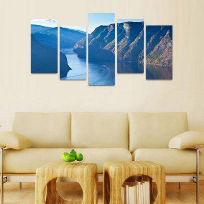 MailingArt FIV208  5 Panels Landscape Wall Art Painting Home Decor Canvas PrintPrints<br>MailingArt FIV208  5 Panels Landscape Wall Art Painting Home Decor Canvas Print<br><br>Craft: Print<br>Form: Five Panels<br>Material: Canvas<br>Package Contents: 5 x Print<br>Package size (L x W x H): 82.00 x 32.00 x 12.00 cm / 32.28 x 12.6 x 4.72 inches<br>Package weight: 1.8000 kg<br>Painting: Include Inner Frame<br>Shape: Horizontal Panoramic<br>Style: Natural<br>Subjects: Landscape<br>Suitable Space: Bedroom,Cafes,Dining Room,Hallway,Hotel,Kids Room,Kids Room,Kitchen,Living Room,Office,Study Room / Office