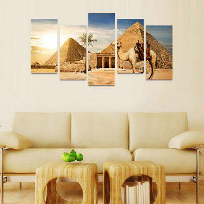MailingArt FIV209  5 Panels Landscape Wall Art Painting Home Decor Canvas PrintPrints<br>MailingArt FIV209  5 Panels Landscape Wall Art Painting Home Decor Canvas Print<br><br>Craft: Print<br>Form: Five Panels<br>Material: Canvas<br>Package Contents: 5 x Print<br>Package size (L x W x H): 82.00 x 32.00 x 12.00 cm / 32.28 x 12.6 x 4.72 inches<br>Package weight: 1.8000 kg<br>Painting: Include Inner Frame<br>Shape: Horizontal Panoramic<br>Style: Natural<br>Subjects: Landscape<br>Suitable Space: Bedroom,Cafes,Dining Room,Hallway,Hotel,Kids Room,Kids Room,Kitchen,Living Room,Office,Study Room / Office