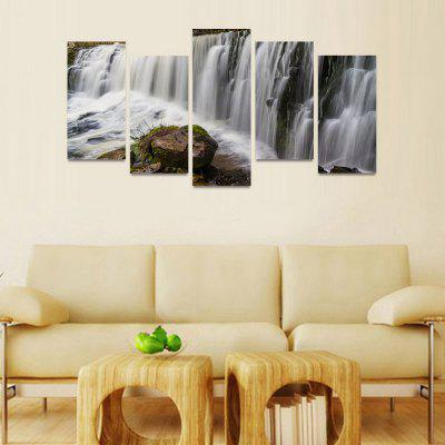 MailingArt FIV213  5 Panels Landscape Wall Art Painting Home Decor Canvas PrintPrints<br>MailingArt FIV213  5 Panels Landscape Wall Art Painting Home Decor Canvas Print<br><br>Craft: Print<br>Form: Five Panels<br>Material: Canvas<br>Package Contents: 5 x Print<br>Package size (L x W x H): 82.00 x 32.00 x 12.00 cm / 32.28 x 12.6 x 4.72 inches<br>Package weight: 1.8000 kg<br>Painting: Include Inner Frame<br>Shape: Horizontal Panoramic<br>Style: Natural<br>Subjects: Landscape<br>Suitable Space: Bedroom,Cafes,Dining Room,Hallway,Hotel,Kids Room,Kids Room,Kitchen,Living Room,Office,Study Room / Office