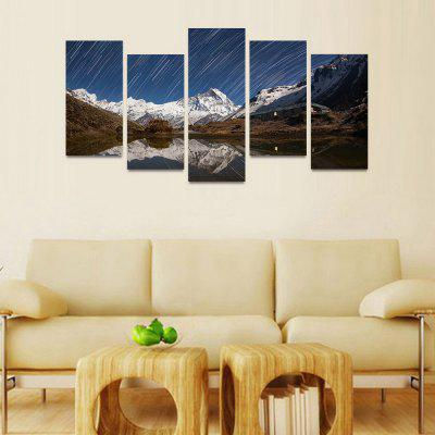 MailingArt FIV214  5 Panels Landscape Wall Art Painting Home Decor Canvas PrintPrints<br>MailingArt FIV214  5 Panels Landscape Wall Art Painting Home Decor Canvas Print<br><br>Craft: Print<br>Form: Five Panels<br>Material: Canvas<br>Package Contents: 5 x Print<br>Package size (L x W x H): 82.00 x 32.00 x 12.00 cm / 32.28 x 12.6 x 4.72 inches<br>Package weight: 1.8000 kg<br>Painting: Include Inner Frame<br>Shape: Horizontal Panoramic<br>Style: Natural<br>Subjects: Landscape<br>Suitable Space: Bedroom,Cafes,Dining Room,Hallway,Hotel,Kids Room,Kids Room,Kitchen,Living Room,Office,Study Room / Office