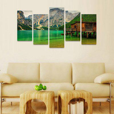 MailingArt FIV221  5 Panels Landscape Wall Art Painting Home Decor Canvas PrintPrints<br>MailingArt FIV221  5 Panels Landscape Wall Art Painting Home Decor Canvas Print<br><br>Craft: Print<br>Form: Five Panels<br>Material: Canvas<br>Package Contents: 5 x Print<br>Package size (L x W x H): 82.00 x 32.00 x 12.00 cm / 32.28 x 12.6 x 4.72 inches<br>Package weight: 1.8000 kg<br>Painting: Include Inner Frame<br>Shape: Horizontal Panoramic<br>Style: Natural<br>Subjects: Landscape<br>Suitable Space: Bedroom,Cafes,Dining Room,Hallway,Hotel,Kids Room,Kids Room,Kitchen,Living Room,Office,Study Room / Office