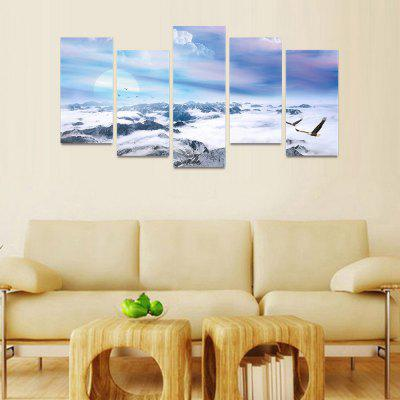 MailingArt FIV224  5 Panels Landscape Wall Art Painting Home Decor Canvas PrintPrints<br>MailingArt FIV224  5 Panels Landscape Wall Art Painting Home Decor Canvas Print<br><br>Craft: Print<br>Form: Five Panels<br>Material: Canvas<br>Package Contents: 5 x Print<br>Package size (L x W x H): 82.00 x 32.00 x 12.00 cm / 32.28 x 12.6 x 4.72 inches<br>Package weight: 1.8000 kg<br>Painting: Include Inner Frame<br>Shape: Horizontal Panoramic<br>Style: Natural<br>Subjects: Landscape<br>Suitable Space: Bedroom,Cafes,Dining Room,Hallway,Hotel,Kids Room,Kids Room,Kitchen,Living Room,Office,Study Room / Office