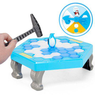 Board Games Save Penguin Break Ice Blocks Children Educational Parent-Child Interactive Toys interactive ice breaking table penguin trap children funny game penguin trap activate entertainment toy family fun game with box