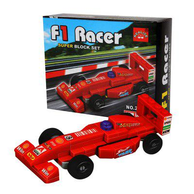 Children Building Blocks Racer Toy