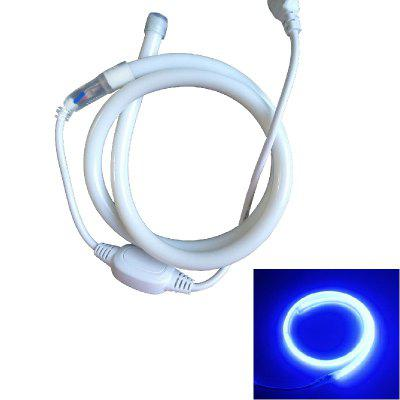 1PC 1M 9W 120LEDS Waterproof Circular Led Neon Tube Led Sign Board Tube Flexible Strip With Power Cord