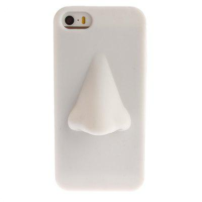 Case Cover for iPhone 5 / 5S / SE New Lovely Nose Soft Silicone Shell