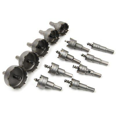 LOCKMALL 13PCS 16/18/20/22MM Stainless Steel Metalworking Metal Cutting Hole DrillingPower Drill<br>LOCKMALL 13PCS 16/18/20/22MM Stainless Steel Metalworking Metal Cutting Hole Drilling<br><br>Material: Carbide<br>Package Contents: 13 x Drill Bit Holes<br>Package size (L x W x H): 20.00 x 10.00 x 9.00 cm / 7.87 x 3.94 x 3.54 inches<br>Package weight: 1.3000 kg<br>Product weight: 1.2480 kg<br>Special function: Stainless steel open hole reamer / metal hole drilling<br>Type: Bit