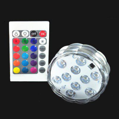 16 Color Multi-function Underwater Infrared Remote Control LED Lamp