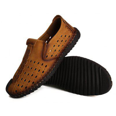 Men Shoes Fashion Business Leisure Casual Soft Cross Summer Loafers British SneakersMen's Oxford<br>Men Shoes Fashion Business Leisure Casual Soft Cross Summer Loafers British Sneakers<br><br>Available Size: 38-44<br>Closure Type: Lace-Up<br>Embellishment: Hollow Out<br>Gender: For Men<br>Insole Material: Rubber<br>Occasion: Casual<br>Outsole Material: Rubber<br>Package Contents: 1?Shoes(pair)<br>Pattern Type: Others<br>Season: Summer, Spring/Fall<br>Shoe Width: Medium(B/M)<br>Toe Shape: Round Toe<br>Toe Style: Closed Toe<br>Upper Material: Microfiber<br>Weight: 1.2000kg