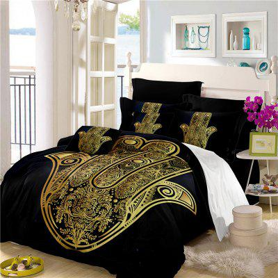 Faith Hand 3D Series Bedding Three and Four Pieces Set AS28