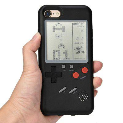 Real Working Classic Games Digital Screen TPU Protector Anti-shock Retro Game Console Style Case for iPhone 7 / iPhone 8iPhone Cases/Covers<br>Real Working Classic Games Digital Screen TPU Protector Anti-shock Retro Game Console Style Case for iPhone 7 / iPhone 8<br><br>Compatible for Apple: iPhone 7, iPhone 8<br>Features: Back Cover, Bumper Frame<br>Material: Plastic, Aluminium Alloy<br>Package Contents: 1 x Phone case<br>Package size (L x W x H): 20.00 x 11.00 x 2.00 cm / 7.87 x 4.33 x 0.79 inches<br>Package weight: 0.1170 kg<br>Product weight: 0.0500 kg<br>Style: Vintage, Novelty