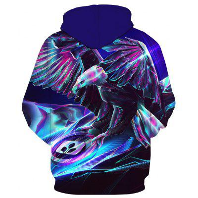 Fashionable Metal Eagle Print HoodieMens Hoodies &amp; Sweatshirts<br>Fashionable Metal Eagle Print Hoodie<br><br>Material: Cotton<br>Package Contents: 1 x Hoodie<br>Shirt Length: Regular<br>Sleeve Length: Full<br>Style: Fashion<br>Weight: 0.4300kg