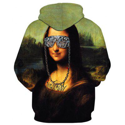 Mona Lisa Stylish Printed HoodieMens Hoodies &amp; Sweatshirts<br>Mona Lisa Stylish Printed Hoodie<br><br>Material: Cotton<br>Package Contents: 1 x Hoodie<br>Shirt Length: Regular<br>Sleeve Length: Full<br>Style: Fashion<br>Weight: 0.4800kg