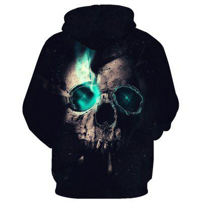 Trendy Skull Printed HoodieMens Hoodies &amp; Sweatshirts<br>Trendy Skull Printed Hoodie<br><br>Material: Cotton<br>Package Contents: 1 x Hoodie<br>Shirt Length: Regular<br>Sleeve Length: Full<br>Style: Fashion<br>Weight: 0.4800kg