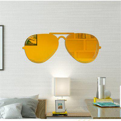 PS Mirror Stickers Minimalist Art Stickers Affixed Sunglasses Mirror Stereo Decoration PasteWall Stickers<br>PS Mirror Stickers Minimalist Art Stickers Affixed Sunglasses Mirror Stereo Decoration Paste<br><br>Art Style: Others, Plane Wall Stickers, Toilet Stickers<br>Color Scheme: Solid Color<br>Function: Decorative Wall Sticker, Clock Sticker<br>Material: PS<br>Package Contents: 1 x Wall stickers<br>Package size (L x W x H): 30.00 x 30.00 x 1.00 cm / 11.81 x 11.81 x 0.39 inches<br>Package weight: 0.3000 kg<br>Product weight: 0.1000 kg<br>Quantity: 1<br>Sizes: Others<br>Subjects: Fashion,Vintage,Leisure,Holiday<br>Suitable Space: Living Room,Bedroom,Dining Room,Hotel,Cafes,Kids Room,Kids Room<br>Type: Mirror Wall Sticker, Plane Wall Sticker