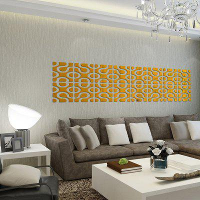 Decorated Mirror Wall Stick Geometry Sitting Room Bedroom Adornment 24PCSWall Stickers<br>Decorated Mirror Wall Stick Geometry Sitting Room Bedroom Adornment 24PCS<br><br>Function: Decorative Wall Sticker<br>Material: PMMA<br>Package Contents: 24 x wallpaper<br>Package size (L x W x H): 15.00 x 15.00 x 5.00 cm / 5.91 x 5.91 x 1.97 inches<br>Package weight: 0.3000 kg<br>Product size (L x W x H): 20.00 x 80.00 x 3.00 cm / 7.87 x 31.5 x 1.18 inches<br>Quantity: 24<br>Subjects: Abstract<br>Suitable Space: Bathroom,Bedroom,Dining Room<br>Type: 3D Wall Sticker, Plane Wall Sticker