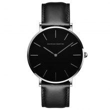 Hannah Martin Trendy Business Casual Unisex Thin Band Watch