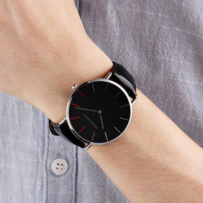 Hannah Martin Japanese Movement Waterproof Ultra-Thin Fashion Casual Quartz WatchUnisex Watches<br>Hannah Martin Japanese Movement Waterproof Ultra-Thin Fashion Casual Quartz Watch<br><br>Available Color: Black,Brown<br>Band material: Leather<br>Case material: Alloy<br>Clasp type: Pin buckle<br>Display type: Analog<br>Movement type: Quartz watch<br>Package Contents: 1 x Quartz Watch<br>Package size (L x W x H): 15.00 x 5.00 x 5.00 cm / 5.91 x 1.97 x 1.97 inches<br>Package weight: 0.0500 kg<br>People: Unisex table<br>Product size (L x W x H): 24.00 x 4.00 x 0.69 cm / 9.45 x 1.57 x 0.27 inches<br>Product weight: 0.0380 kg<br>Shape of the dial: Round<br>Special features: IP plating<br>Watch style: Childlike, Casual, Fashion, Classic, Business, Lovely<br>Water resistance: 30 meters