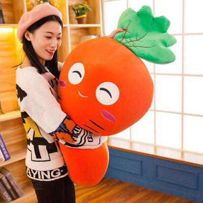 Girl Plush Doll Creative Cute Carrot  Birthday Gift ToyStuffed Cartoon Toys<br>Girl Plush Doll Creative Cute Carrot  Birthday Gift Toy<br><br>Features: Stuffed and Plush<br>Materials: Other, PP Cotton<br>Package Contents: 1 x Plush Toy<br>Package size: 25.00 x 25.00 x 70.00 cm / 9.84 x 9.84 x 27.56 inches<br>Package weight: 0.7000 kg<br>Product size: 20.00 x 20.00 x 65.00 cm / 7.87 x 7.87 x 25.59 inches<br>Product weight: 0.7000 kg<br>Series: Fashion<br>Theme: Other